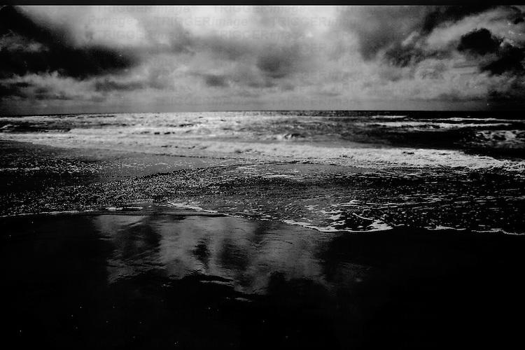 Waves on a sea shore