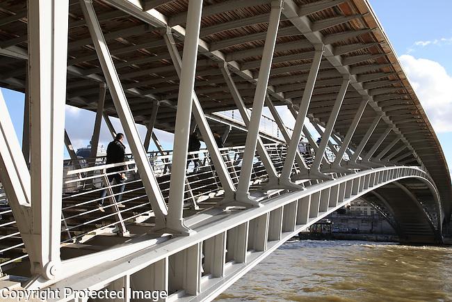 Solferino Bridge, Paris, France