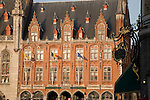 Post Office, Market Place, Bruges, Belgium, Europe