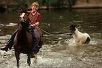 Appleby in Westmorland Horse Fair Cumbria. UK 1980s