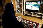 Arhus, Denmark, April , 2010. Aisha, 42, danish, converted to Islam 22 years ago.