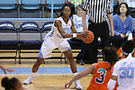 17 November 2015: North Carolina's N'Dea Bryant. The University of North Carolina Tar Heels hosted the Florida A&M University Rattlers at Carmichael Arena in Chapel Hill, North Carolina in a 2015-16 NCAA Division I Women's Basketball game. UNC won the game 94-58.