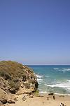 Yavneh Yam by the Mediterranean sea