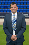 St Johnstone FC photocall Season 2016-17<br />Callum Davidson, Assistant Manager<br />Picture by Graeme Hart.<br />Copyright Perthshire Picture Agency<br />Tel: 01738 623350  Mobile: 07990 594431