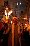 Easter, Holy Saturday at the Church of the Holy Sepulchre