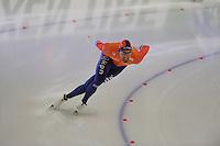 SPEEDSKATING: BERLIN: Sportforum Berlin, 27-01-2017, ISU World Cup, 1500m Men A Division, winner Kjeld Nuis (NED), ©photo Martin de Jong