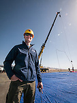 Project Loon balloon launch with Google at the Winnemcuca Municipal Airport, Nev.<br /> <br /> T.J. Tierney, Project Manager