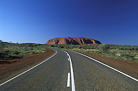 Ayers Rock.Uluru National Park.Northern Territory.Australia