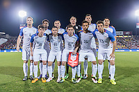 FRISCO, TX - March 29, 2016: The US U-23 Men's National team vs Colombia in a Olympic qualifying match at the Toyota Stadium.  Final score, USA 1, Colombia 2.