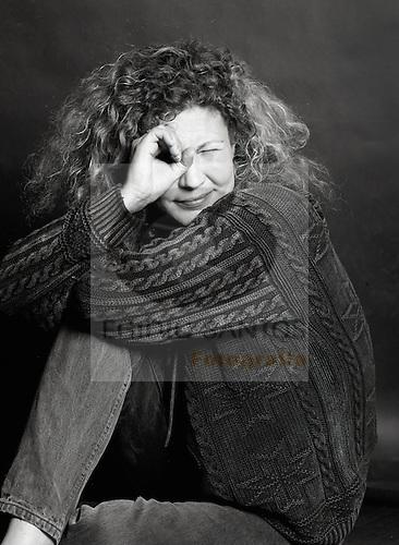Solveig Dommartin, French-German actress, at the Vila do Conde Festival de Curtas MetragensSolveig Dommartin