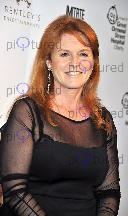 Sarah Ferguson attends as Tamara Ecclestone hosts annual dinner to raise funds for Great Ormond Street Children's Hospital at One Marylebone in London.
