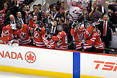 Chet Pickard (Canada - 31), PK Subban (Canada - 5), ?, Thomas Hickey (Canada - 4), Chris Di Domenico (Canada - 25), Guy Boucher (Canada - Assistant Coach), Ryan Ellis (Canada - 8),?, ?, Cody Goloubef (Canada - 17), ? - Canada defeated Sweden 5-1 (2 en) in the 2009 World Junior Championship gold medal game on Monday, January 5, 2009, at Scotiabank Place in Kanata (Ottawa), Ontario.  This was the second consecutive year that Canada won gold and Sweden won silver after Canada defeated Sweden in overtime in 2008 and was Canada's fifth consecutive gold.