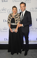 NEW YORK, NY - OCTOBER 24: Renaud de Lesquen and Adelaide de Lesquen  attends the 2016 Princess Grace Awards Gala at Cipriani Broadway on October 24, 2016 in New York City. Photo by John Palmer/MediaPunch
