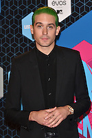 G-Eazy<br /> 2016 MTV EMAs in Ahoy Arena, Rotterdam, The Netherlands on November 06, 2016.<br /> CAP/PL<br /> &copy;Phil Loftus/Capital Pictures /MediaPunch ***NORTH AND SOUTH AMERICAS ONLY***