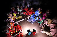 Thanks to the solar lanterns made by the villagers of Tinginapu, the women can now work after dark in their homes and have formed a self-help group which meets to discuss the needs and the issues facing women in the area. The Orissa Tribal Empowerment and Livelihoods Programme (OTELP) is an organisation funded by DFID (Department for International Development) and run with the state government of Orissa. The project took four women from the remote tribal village of Tinginapu and trained them in Solar Powered Engineering, and installed Solar lighting in their village which had not seen electricity for over 15 years. The Orissa Tribal Women's Barefoot Solar Engineers Association has now got a contract to build 3,000 solar-powered lanterns for schools and other institutions and is training other people in the community.