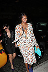 Jessica White arrives to Moët & Chandon and Kelly Rowland debut the Rosé Lounge with an exclusive celebration for Kelly Rowland's new album Here I Am at The Standard Hotel, NY 7/26/11