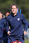 14 October 2014: Christie Rampone. The United States Women's National Team held a training session on the stadium field at Swope Park Soccer Village in Kansas City, Missouri in preparation for the CONCACAF Women's World Cup Qualifying Tournament for the 2015 Women's World Cup in Canada.