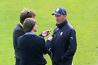 Hampshire head coach Craig White is interviewed after the match during Essex CCC vs Hampshire CCC, Specsavers County Championship Division 1 Cricket at The Cloudfm County Ground on 21st May 2017