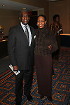 Lloyd Williams and Harlem arts alliance Executive Director Linda Walton Attend The Greater Harlem Chamber of Commerce and its media partners WBLS-FM and New York Amsterdam News presents: New York City Tourism 2013, Hosted by NYC & CO, Marriott, Harlem Arts Alliance and I LOVE NY Held at the Marriott Marquis Hotel, NY