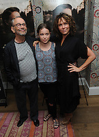"NEW YORK, NY - August 15 :  Joel Grey, Stella Grey and Jennifer Grey attends the New York screening for "" A )Tale of Love and Darkness"" on august 15, 2016 at the Crosby Hotel in New York City.  Photo Credit:John Palmer/ MediaPunch"