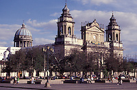The Catedral Metropolitana or Metropolitan Cathedral in Guatemala City, Guatemala.