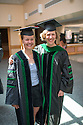 Catherine Mygatt, left, Martha Seagrave, M.D. Class of 2012 commencement.
