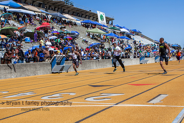 The 2013 Tommie Smith Youth Track Meet was held at Edwards Stadium on the University of California Berkeley campus on Saturday and Sunday June 1-2, 2013. Tommie Smith broke the world record at the 1968 Mexico City Olympics and became an international symbol for human rights when he received his Gold Medal.
