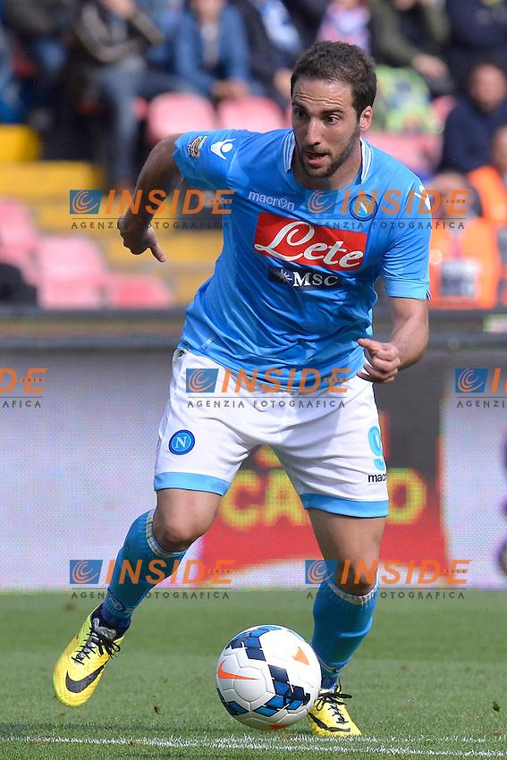 Gonzalo Higuain Napoli <br /> Napoli 13-04-2014 Stadio San Paolo - Football Calcio 2013/2014 Serie A, Napoli - Lazio , Foto Andrea Staccioli / Insidefoto
