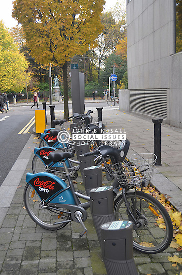 Bike hire scheme Dublin Ireland
