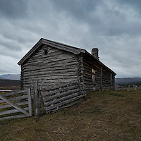 Old mountain barn, Russli, Oppland, Norway