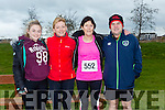 participants who took part in the Kerry's Eye Valentines Weekend 10 mile road race on Sunday were Lorna Barrett, Jeanna Barrett, Phyllis O' Herlihy and Paudie Barrett