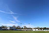 General view under blue skies during Essex CCC vs Lancashire CCC, Specsavers County Championship Division 1 Cricket at The Cloudfm County Ground on 9th April 2017