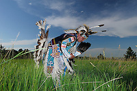 Traditional Dancer Stephen Yellow Hawk, Native American Indian, Rapid City, South Dakota, USA