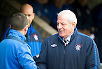 St Johnstone v Rangers....05.04.11 .Walter Smith and Derek McInnes .Picture by Graeme Hart..Copyright Perthshire Picture Agency.Tel: 01738 623350  Mobile: 07990 594431