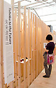 November 5th, 2011 : Tokyo, Japan &ndash; The exhibiton &quot;Tohoku to the Future&quot; showcases several items from the norh part of Japan during 2011 Tokyo Designers Week. It is held in Meiji Jingu Gaien, from November 1st to 6th. The theme of this year is &ldquo;Love/ARIGATO&rdquo;. Designers, artists, and organizations express their ideas and their creative works such as contemporary art, music, unique goods and workshops during this show. (Photo by Yumeto Yamazaki/AFLO)