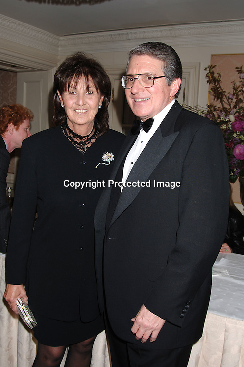 Patricia and Victor Ganzi ..at The Museum Of The Moving Image Dinner honoring..Geogre Bodenheimer and Stephen B Burke on ..May 4, 2006 at The St Regis Hotel. ..Robin Platzer, Twin Images