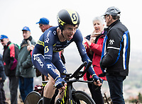 Picture by Alex Broadway/SWpix.com - 08/03/17 - Cycling - 2017 Paris Nice - Stage Four - Beaujeu to Mont Brouilly -Simon Yates of Scott-Orica competes in the Time Trial.