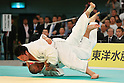 (L to R) Ryuta Ishii (JPN), Keiji Suzuki (JPN), April 29, 2012 - Judo: .2012 All Japan Judo Championships, Semi-Final at Nihon Budokan, Tokyo, Japan. (Photo by Daiju Kitamura/AFLO SPORT) [1045]