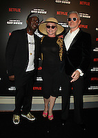 NEW YORK, NY-August 11: Grandmaster Flash, Debbie Harry, Baz Luhrmann at NETFLIX presents the New York premiere of The Get Down at Lehman Center for the Performing Arts in Bronx .NY. August 11, 2016. Credit:RW/MediaPunch