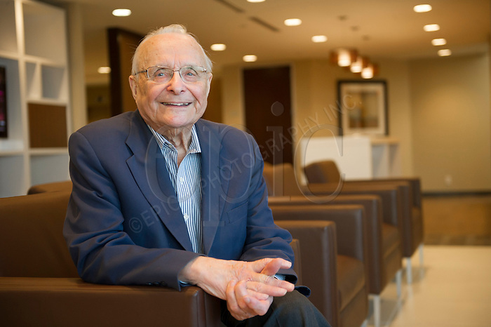 Donald P. Kaye, president and owner of the Westbrook Shopping Centre, donated his entire estate, currently valued at $30 million, the largest healthcare donation by an individual in the province's history, to the University Hospital Foundation on Jan 10, 2013 . Photo by Ian Jackson for the Globe and Mail