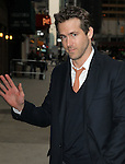 """Celebrities visit """"Late Show with David Letterman"""" New York, Ny February 8, 2012"""