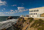 California: San Francisco. Cliff House Restaurant at Ocean Beach. Photo copyright Lee Foster. Photo #: 25-casanf75863