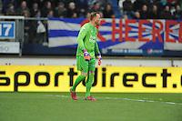VOETBAL: HEERENVEEN: Abe Lenstra Stadion 04-04-2015, SC Heerenveen - NAC, uitslag 0-0, NAC doelman Jelle Ten Rouwelaar, ©foto Martin de Jong
