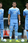 23 September 2016: North Carolina's Zach Wright. The University of North Carolina Tar Heels hosted the Boston College Eagles in Chapel Hill, North Carolina in a 2016 NCAA Division I Men's Soccer match. UNC won the game 5-0.