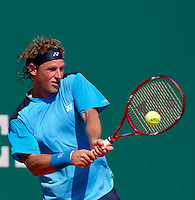 David NALBANDIAN (ARG) against Tommy ROBREDO (ESP) in the third round. David Nalbandian beat Tommy Robredo 6-3 6-4..International Tennis - 2010 ATP World Tour - Masters 1000 - Monte-Carlo Rolex Masters - Monte-Carlo Country Club - Alpes-Maritimes - France..© AMN Images, Barry House, 20-22 Worple Road, London, SW19 4DH.Tel -  + 44 20 8947 0100.Fax - + 44 20 8947 0117