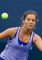Laura Robson (GBR) against Tamaryn Hendler (BEL) (12) in the third round of the Junior Girl's Singles. Robson beat Hendler 6-2 6-1..International Tennis - US Open - Day 11 Thu 10 Sep 2009 - USTA Billie Jean King National Tennis Center - Flushing - New York - USA ..© Frey Images, Barry House, 20-22 Worple Road, London, SW19 4DH.Tel - +44 20 8947 0100.Cell - +447843 383 012.Email - mfrey@advantagemedianet.com
