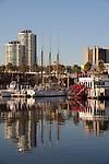 Shoreline Village at Rainbow Harbor in Downtown Long Beach, CA