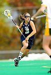 1 May 2010: University of New Hampshire Wildcat attacker Allie Bratton, a Junior from Windermere, FL, in action against the University of Vermont Catamounts at Moulton Winder Field in Burlington, Vermont. The visiting Wildcats defeated the Lady Catamounts 18-10 in the last game of the 2010 regular season. Mandatory Photo Credit: Ed Wolfstein Photo