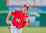 7 March 2016: Washington Nationals outfielder Chris Heisey in action during a Spring Training pre-season game against the Miami Marlins at Space Coast Stadium in Viera, Florida. The Nationals defeated the Marlins 7-4 in Grapefruit League play. Mandatory Credit: Ed Wolfstein Photo *** RAW (NEF) Image File Available ***