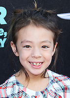 HOLLYWOOD, LOS ANGELES, CA, USA - OCTOBER 06: Aubrey Anderson-Emmons arrives at the World Premiere Of Disney's 'Alexander And The Terrible, Horrible, No Good, Very Bad Day' held at the El Capitan Theatre on October 6, 2014 in Hollywood, Los Angeles, California, United States. (Photo by Xavier Collin/Celebrity Monitor)
